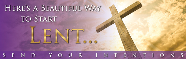 Lenten Remembrance and Intentions