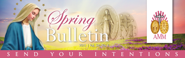 Spring Bulletin Prayer Intentions