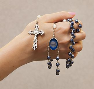 R214 - Lourdes Water Rosary