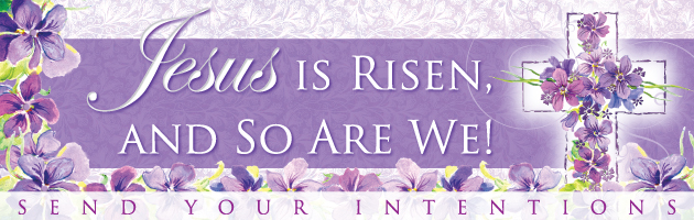 Easter Intentions Remembrance