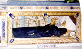 Body of St. Catherine Laboure in Paris